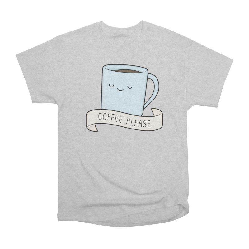 Coffee Please! Men's T-Shirt by Kim Vervuurt