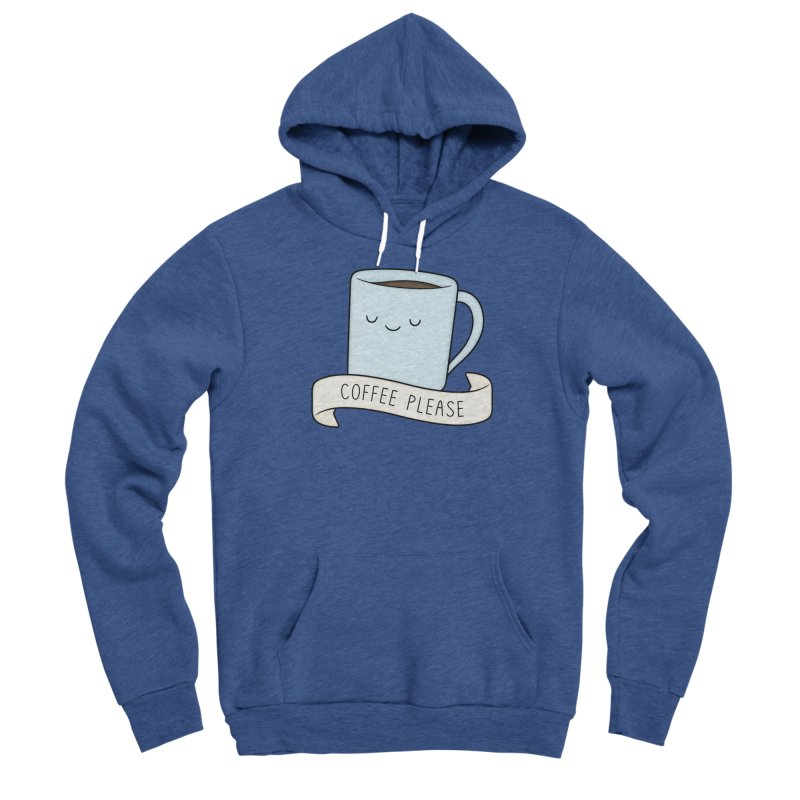 Coffee Please! Men's Pullover Hoody by Kim Vervuurt