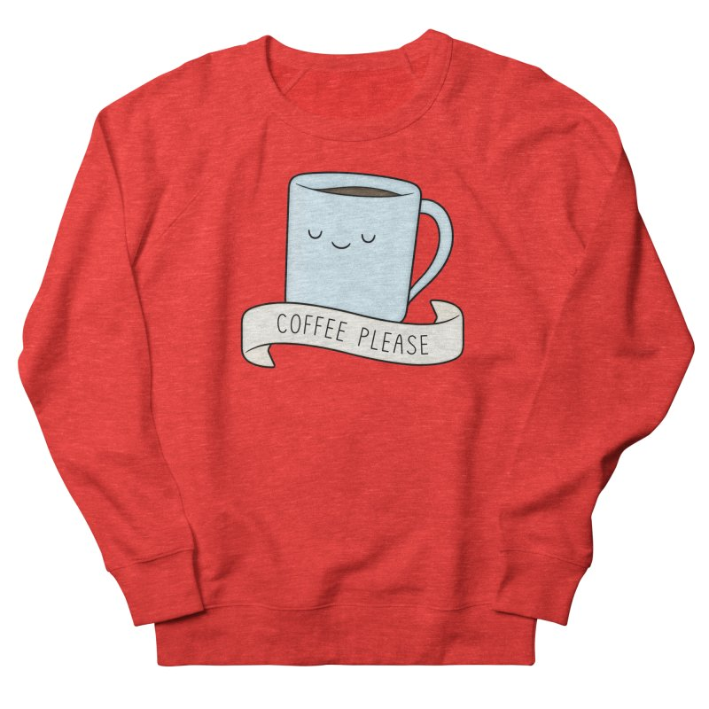 Coffee Please! Men's Sweatshirt by Kim Vervuurt