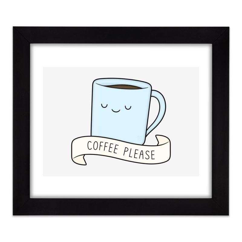 Coffee Please! Home Framed Fine Art Print by Kim Vervuurt