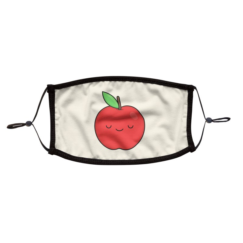 Apple Red Accessories Face Mask by Kim Vervuurt
