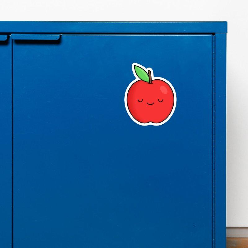Apple Red Accessories Magnet by Kim Vervuurt