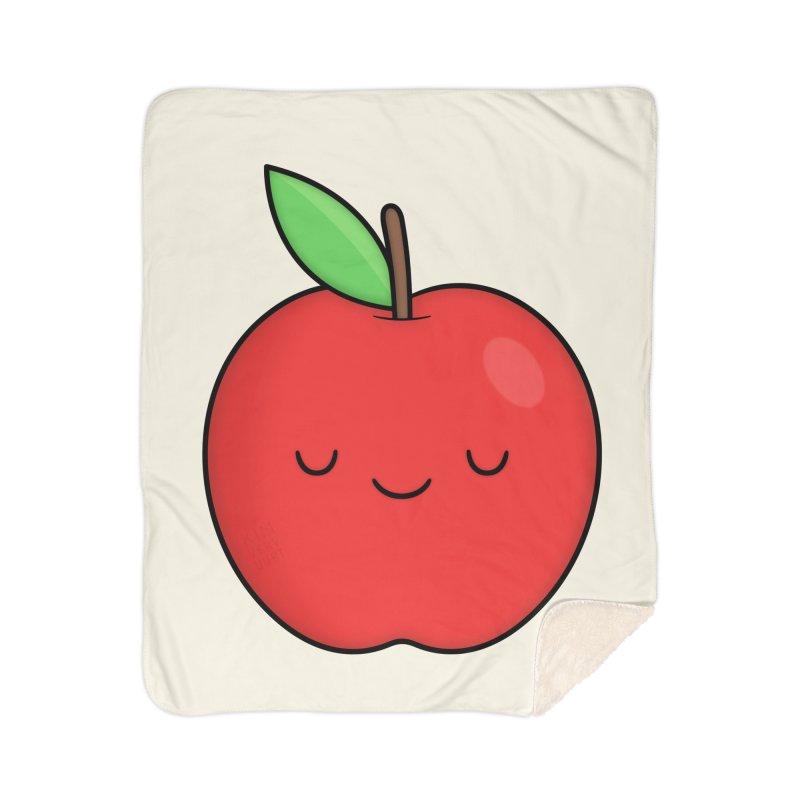 Apple Red Home Blanket by Kim Vervuurt