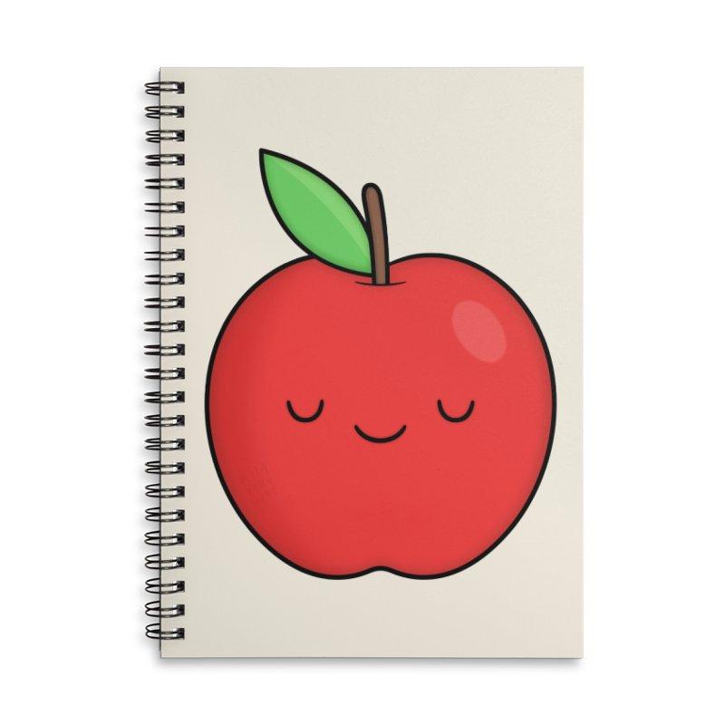 Apple Red Accessories Notebook by Kim Vervuurt