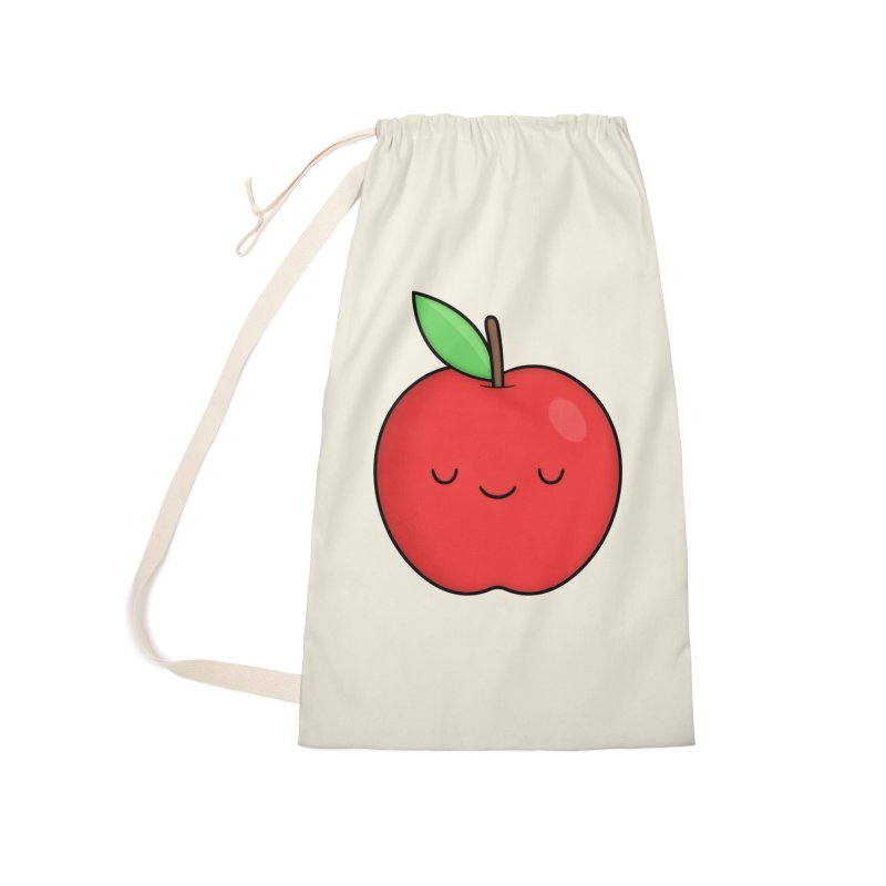 Apple Red Accessories Bag by Kim Vervuurt