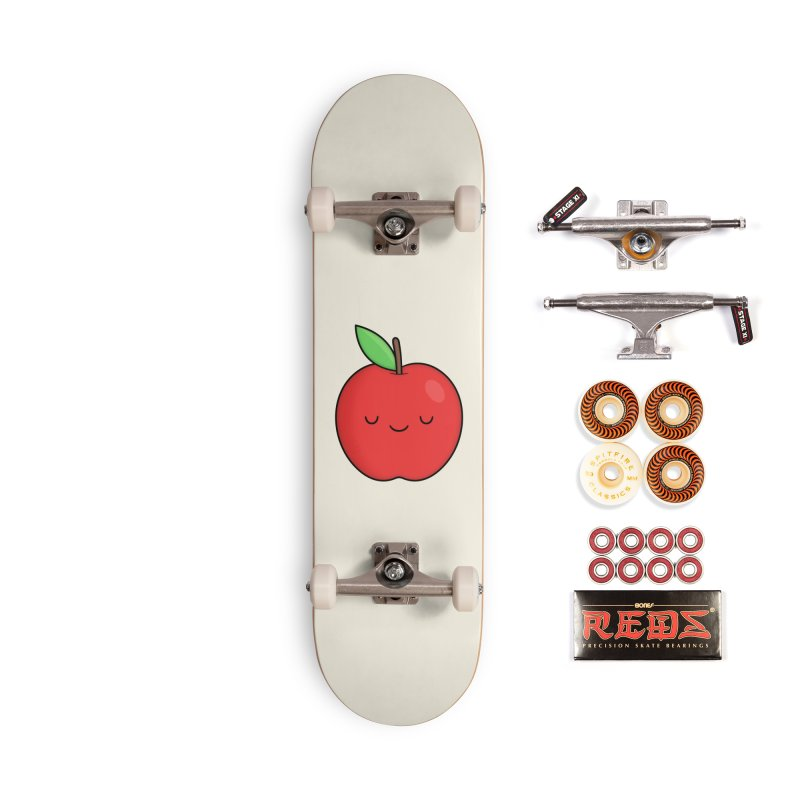 Apple Red Accessories Skateboard by Kim Vervuurt