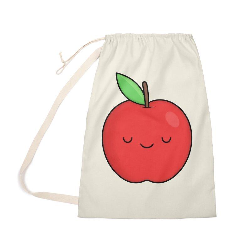 Apple Red Accessories Bag by Kim Vervuurt