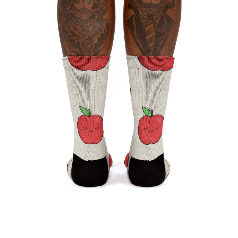 Apple Red Women's Socks by Kim Vervuurt