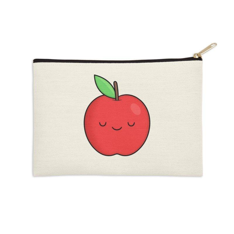Apple Red Accessories Zip Pouch by Kim Vervuurt
