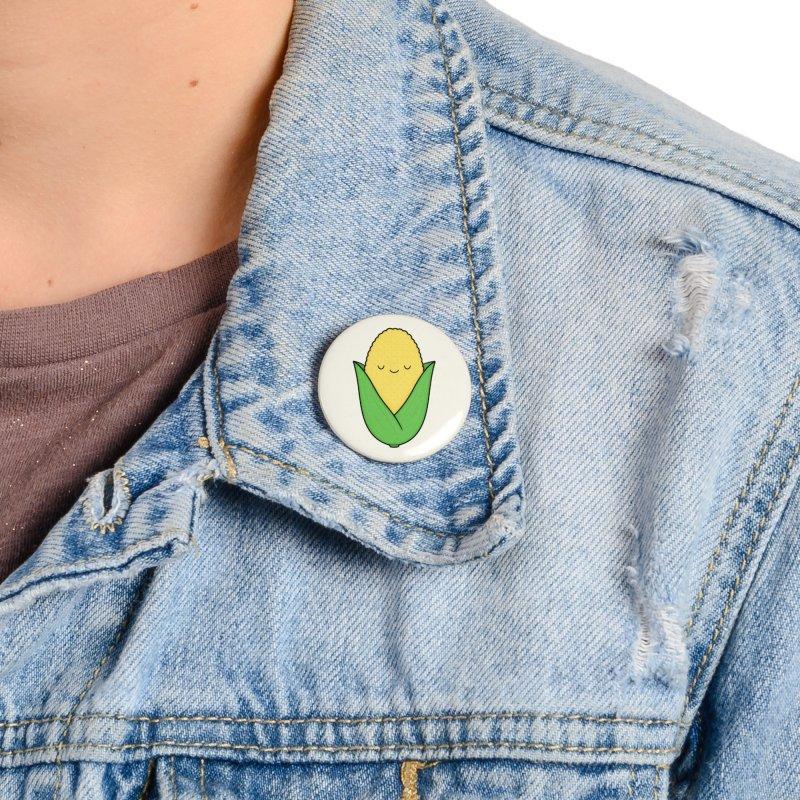 Little Corn Cob Accessories Button by Kim Vervuurt