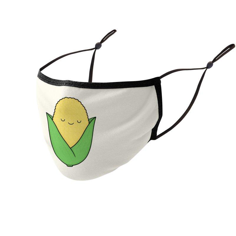 Little Corn Cob Accessories Face Mask by Kim Vervuurt