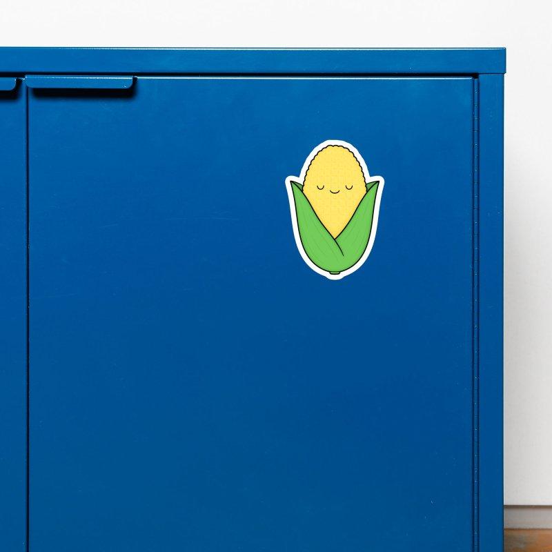 Little Corn Cob Accessories Magnet by Kim Vervuurt