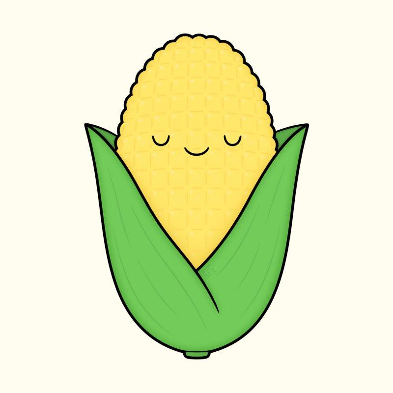 Little Corn Cob Home Blanket by Kim Vervuurt