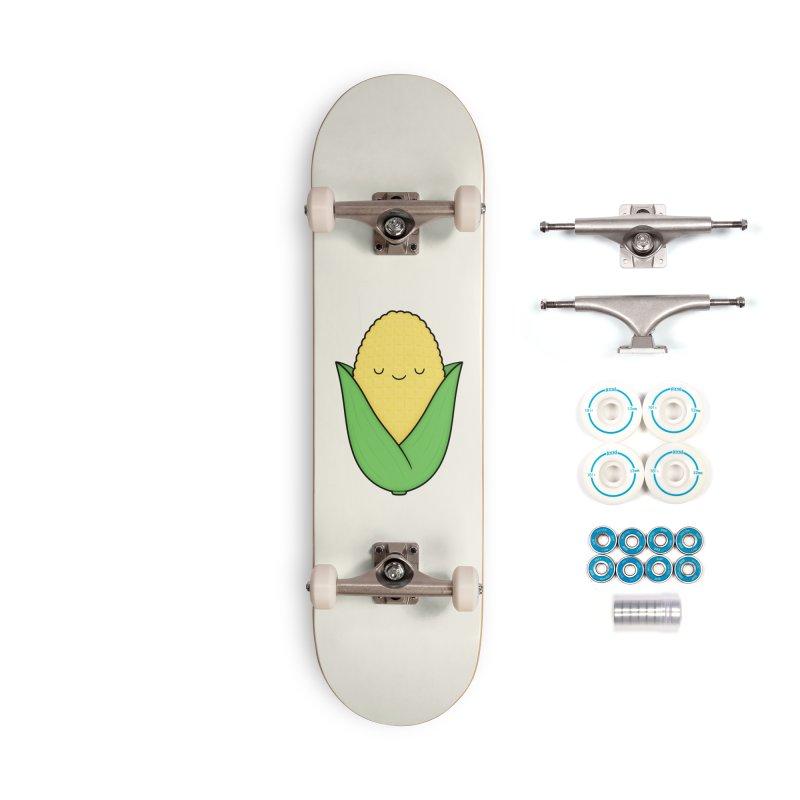 Little Corn Cob Accessories Skateboard by Kim Vervuurt