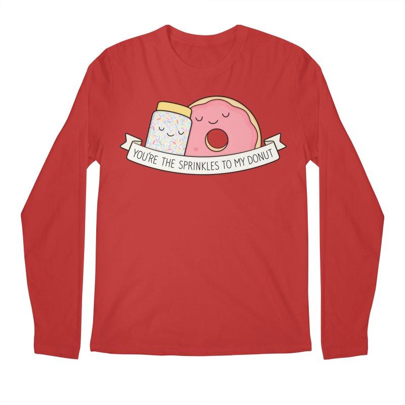 You're the sprinkles to my donut Men's Longsleeve T-Shirt by Kim Vervuurt