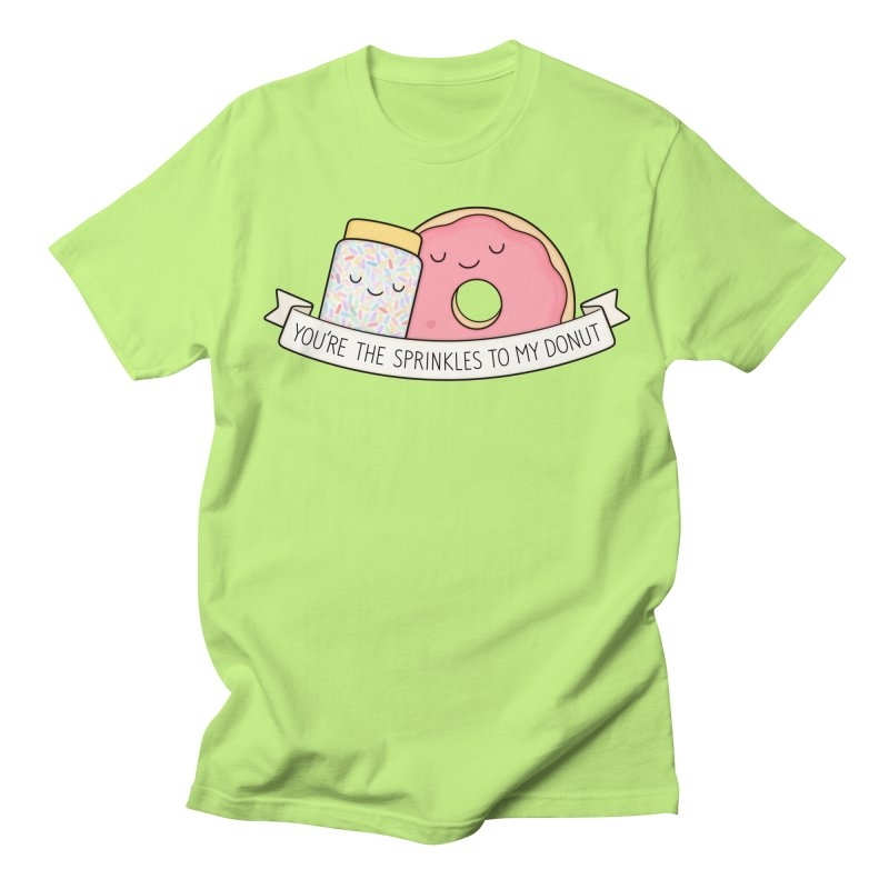 You're the sprinkles to my donut Men's T-Shirt by Kim Vervuurt