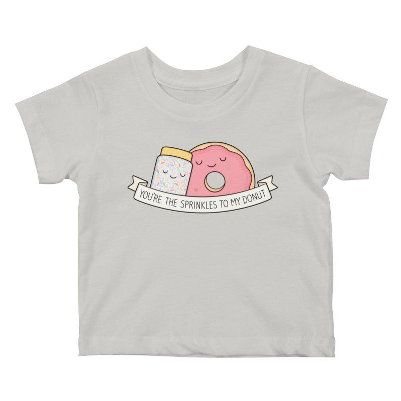 You're the sprinkles to my donut Kids Baby T-Shirt by Kim Vervuurt