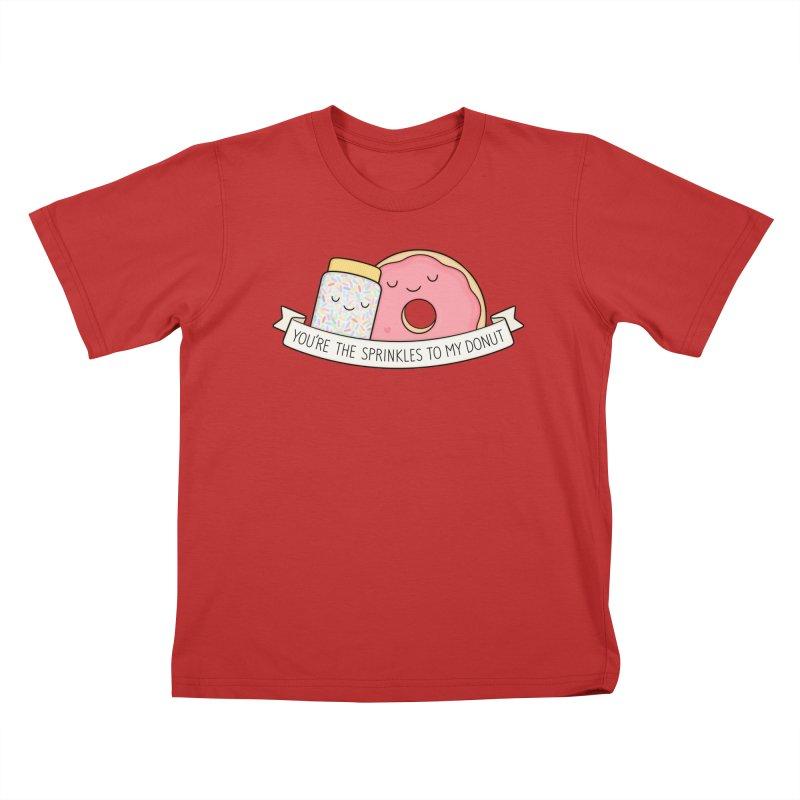 You're the sprinkles to my donut Kids T-Shirt by Kim Vervuurt