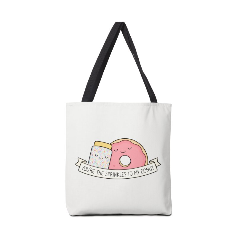 You're the sprinkles to my donut Accessories Bag by Kim Vervuurt
