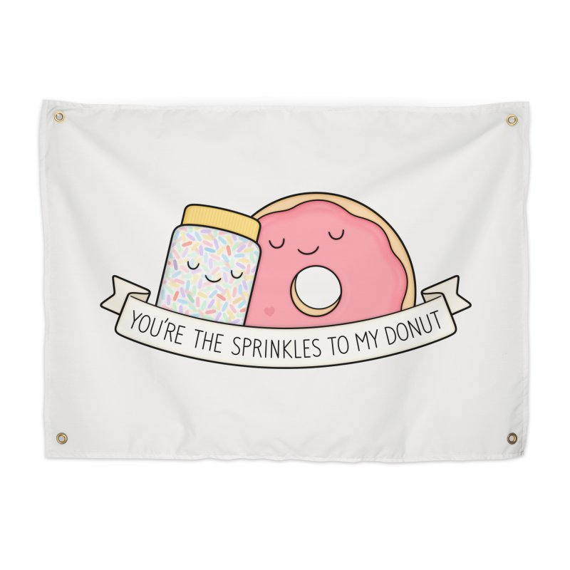You're the sprinkles to my donut Home Tapestry by Kim Vervuurt