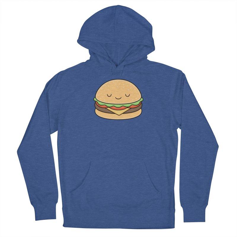 Happy Burger Men's Pullover Hoody by Kim Vervuurt