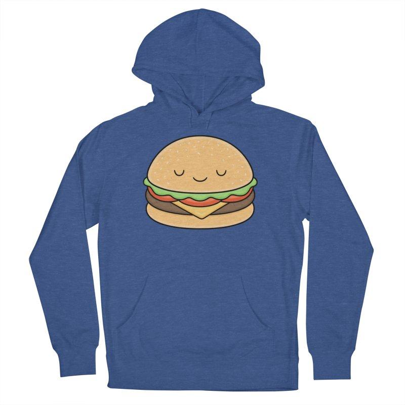 Happy Burger Women's Pullover Hoody by Kim Vervuurt