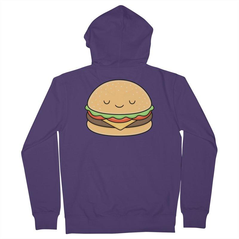 Happy Burger Women's Zip-Up Hoody by Kim Vervuurt
