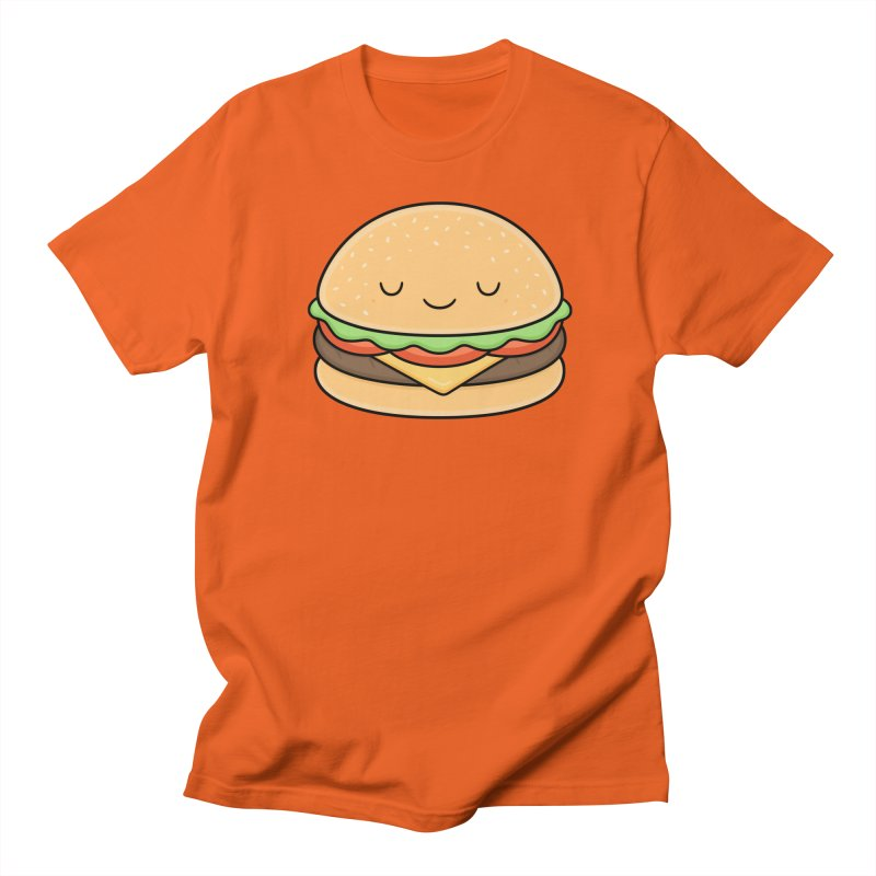 Happy Burger Men's T-Shirt by Kim Vervuurt