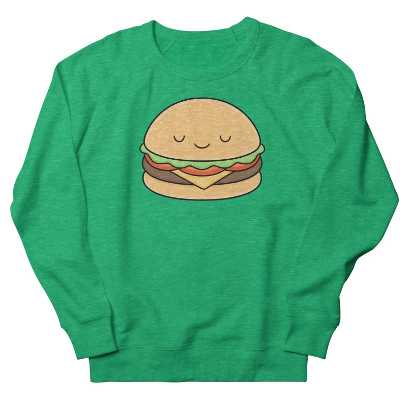 Happy Burger Women's Sweatshirt by Kim Vervuurt