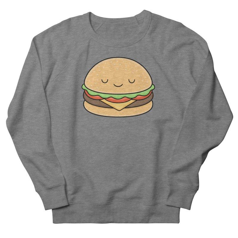 Happy Burger Men's Sweatshirt by Kim Vervuurt
