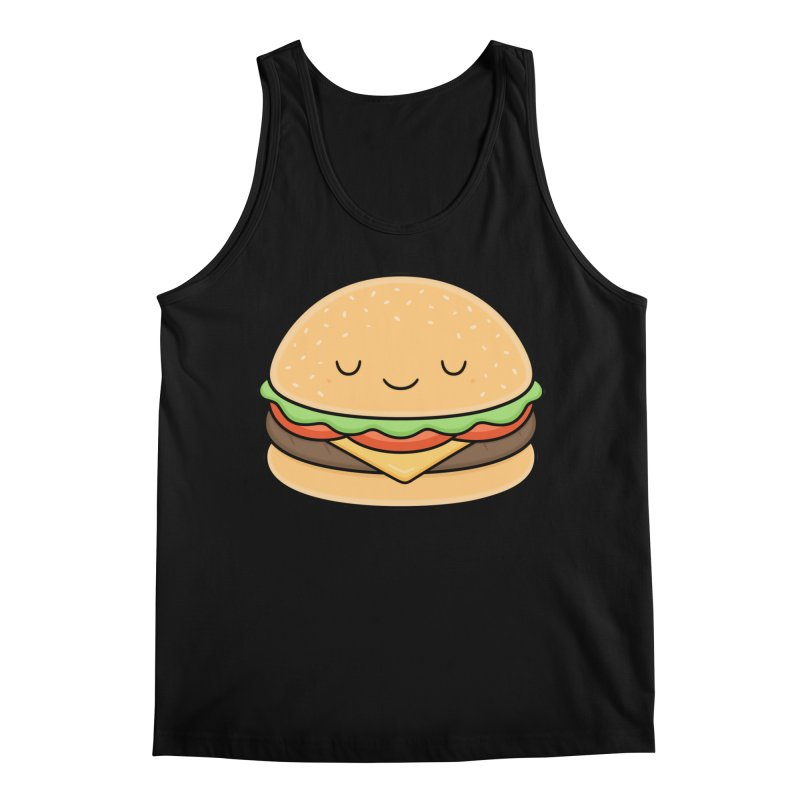 Happy Burger Men's Regular Tank by Kim Vervuurt