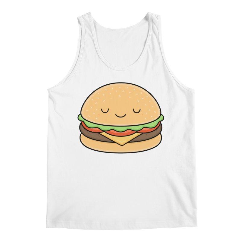 Happy Burger Men's Regular Tank by Kim Vervuurt