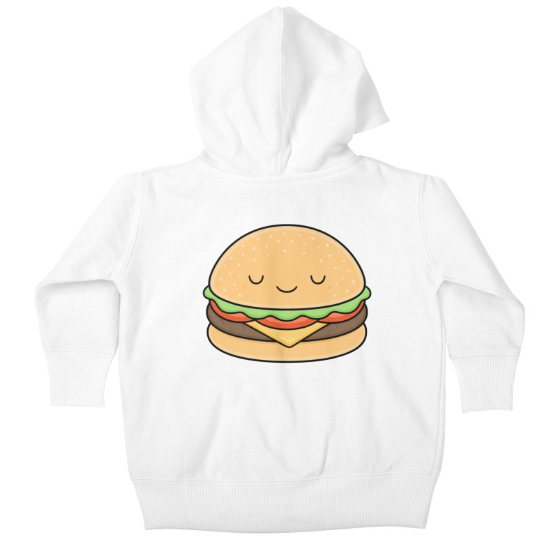 Happy Burger Kids Baby Zip-Up Hoody by Kim Vervuurt