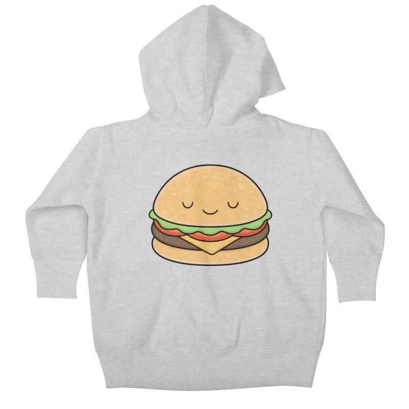 Happy Burger Kids Baby Zip-Up Hoody by Kim Vervuurt