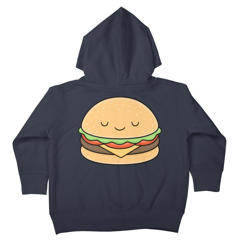 Happy Burger Kids Toddler Zip-Up Hoody by Kim Vervuurt
