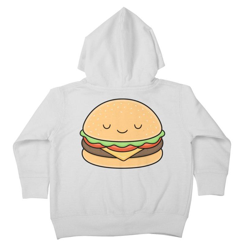 Happy Burger Kids Toddler Zip-Up Hoody by Kim Vervuurt