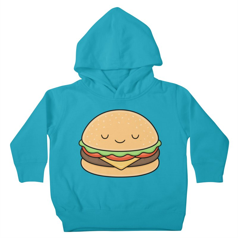 Happy Burger Kids Toddler Pullover Hoody by Kim Vervuurt