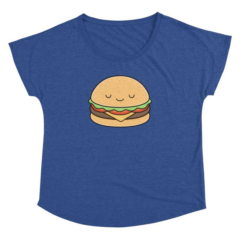 Happy Burger Women's Dolman by Kim Vervuurt
