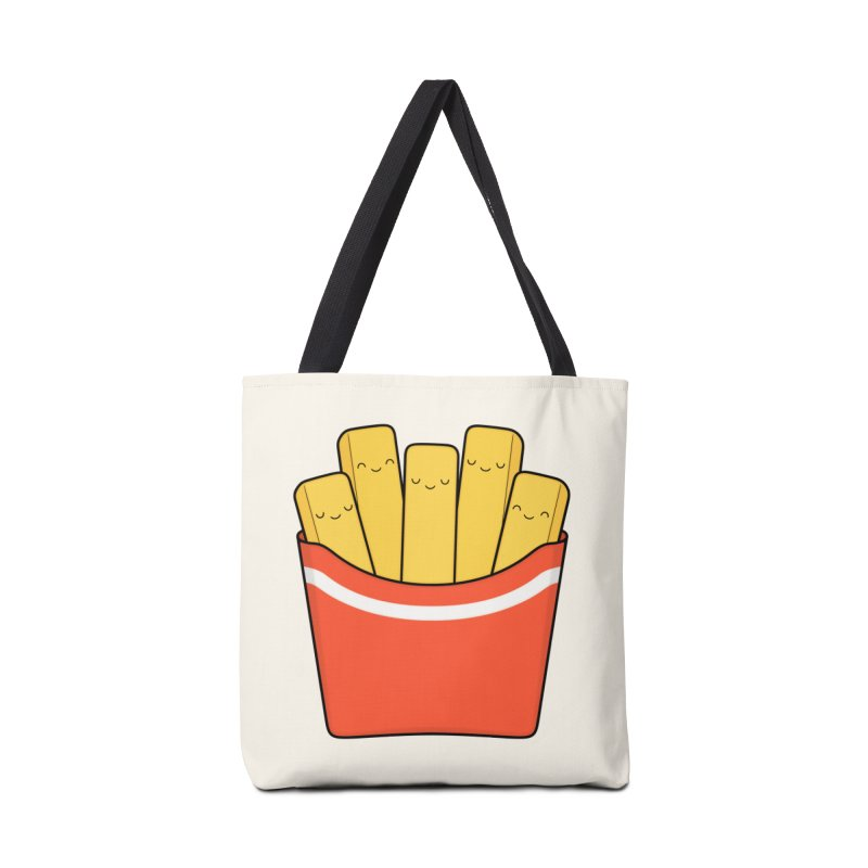 Best Fries Accessories Tote Bag Bag by Kim Vervuurt