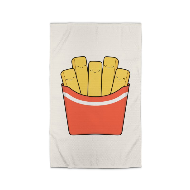 Best Fries Home Rug by Kim Vervuurt