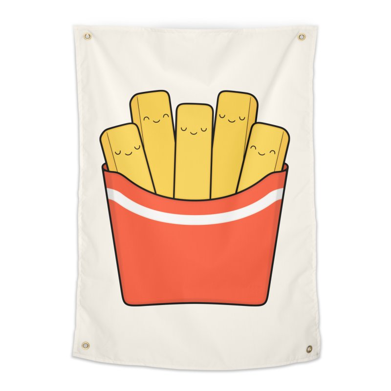 Best Fries Home Tapestry by Kim Vervuurt