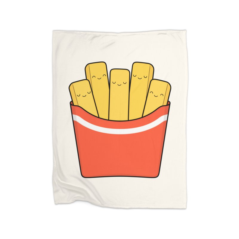 Best Fries Home Blanket by Kim Vervuurt