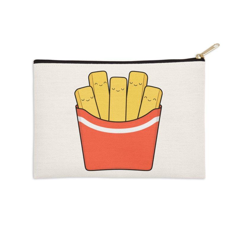 Best Fries Accessories Zip Pouch by Kim Vervuurt