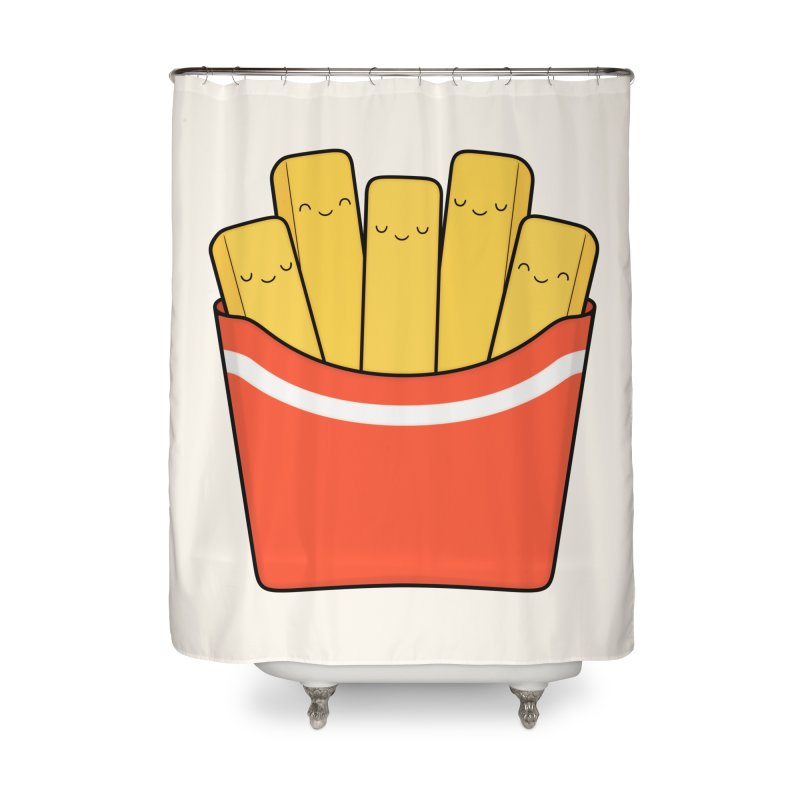 Best Fries Home Shower Curtain by Kim Vervuurt