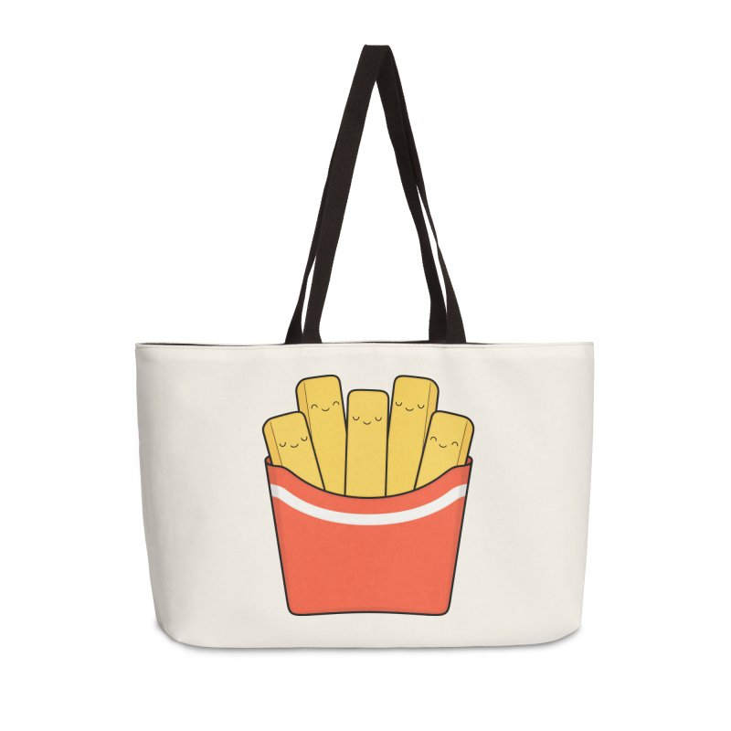 Best Fries Accessories Weekender Bag Bag by Kim Vervuurt