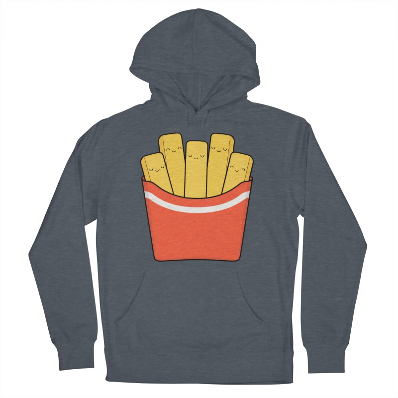 Best Fries Women's French Terry Pullover Hoody by Kim Vervuurt