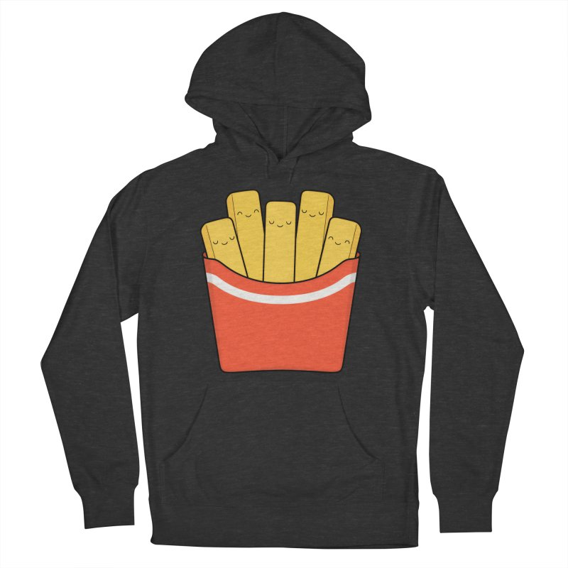 Best Fries Men's French Terry Pullover Hoody by Kim Vervuurt