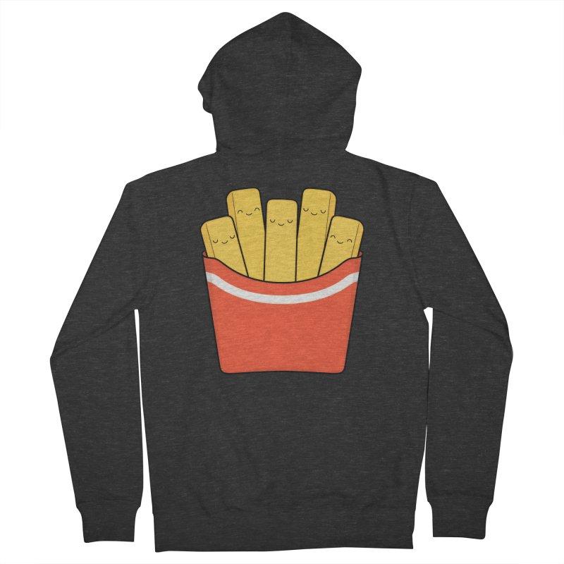 Best Fries Men's Zip-Up Hoody by Kim Vervuurt