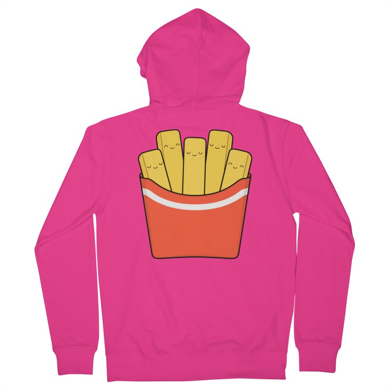 Best Fries Men's Zip-Up Hoody by Kim Vervuurt