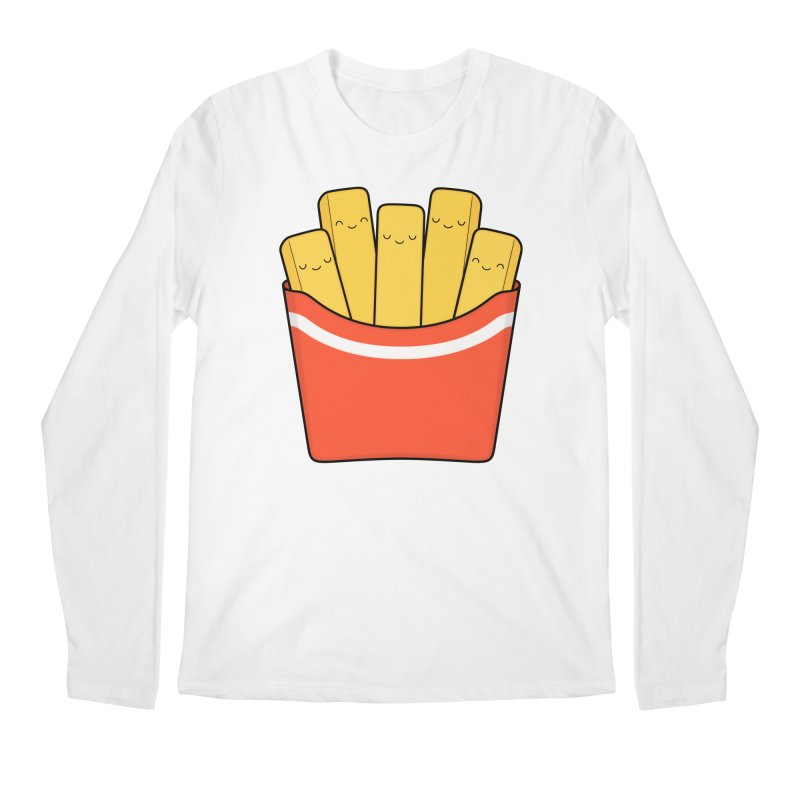 Best Fries Men's Regular Longsleeve T-Shirt by Kim Vervuurt
